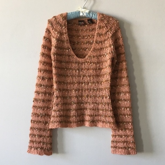 BKE Sweaters - BKE BUCKLE STORE CHUNKY LOOSE KNIT TOP M/L